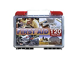 Medique 40120 Multi-Purpose First Aid Kit, 120-Piece
