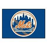 FANMATS MLB New York Mets Nylon Face Starter Rug