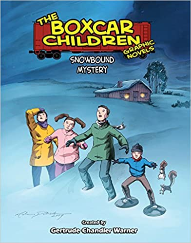 Book Snowbound Mystery (The Boxcar Children Graphic Novels)