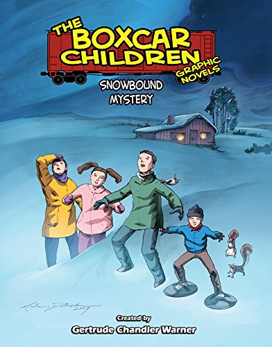 Snowbound Mystery (The Boxcar Children Graphic Novels) Rob M. Worley