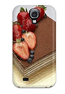 Tpu Shockproof/dirt-proof Strawberry Chocolate Delight Cover Case For Galaxy(s4)
