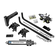Reese 49902 Pro Series Complete Round Bar Weight Distribution Kit with Sway Control - 750 lb.