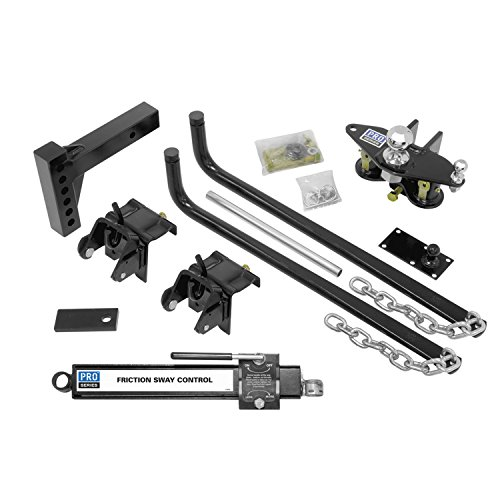 Pro Series Reese 49902 Complete Round Bar Weight Distribution Kit - 750 lbs. TW