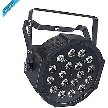 Amazon.com: Wireless Stage Lights, LaluceNatz 18LED RGB