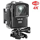 SJCAM M20 WiFi Action Camera 4K 16MP Sony Sensor Underwater Waterproof Camera Remote Control Gyro Stabilization 160 Degree Wide FOV Angle + Mounting Accessories Kit- Black