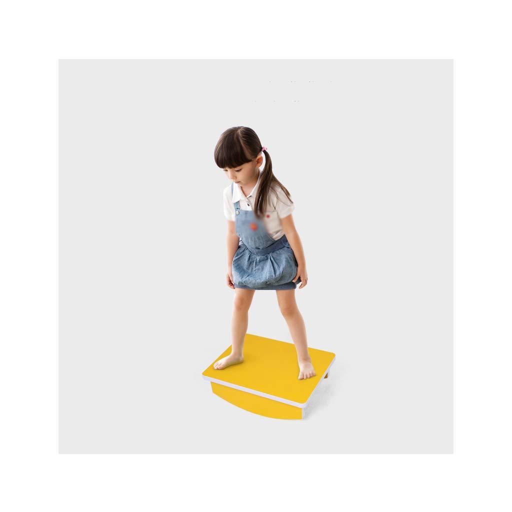 NSC Balance-Board-Balance Trainingsgeräte Pedal Holz Balance Platte Kinder Fitness-Tisch Zufällige Farbe