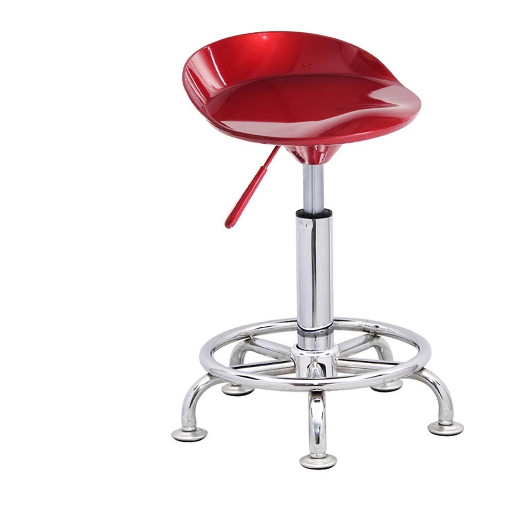 Red wine Ghjkl Bar Stool Fashion bar Stool Lift bar Chair Simple Home bar Stool Front Stool -by TIANTA (color   Red Wine)