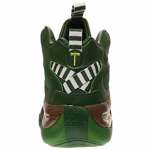 adidas Performance Herren Crazy 8 Basketballschuh Grün Braun