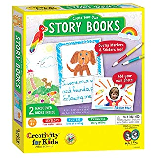 Creativity for Kids Create Your Own Books - 2 Blank Hardcover Books - Open-Ended Crafting (1095000)