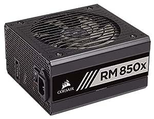 CORSAIR RMX Series, RM850x, 850 Watt, Fully Modular Power Supply, 80+ Gold Certified