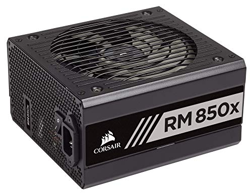 CORSAIR RMX Series, RM850x, 850 Watt, 80+ Gold Certified, Fully Modular Power Supply ()