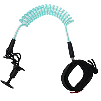 Cable Correa 5 Pies 7mm Tabla De Surf Bodyboard Regulable En Espiral Muñeca Bíceps: Amazon.es: Deportes y aire libre