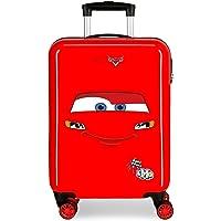 Disney Cars Lightning Mcqueen Maleta de Cabina Rojo 38x55x20 cms Rígida ABS Cierre de combinación Lateral 34L 2,7 kgs 4…