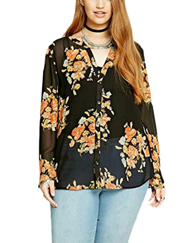 choco-mocha-womens-floral-transparent-button-down-plus-size-blouse-top-12w