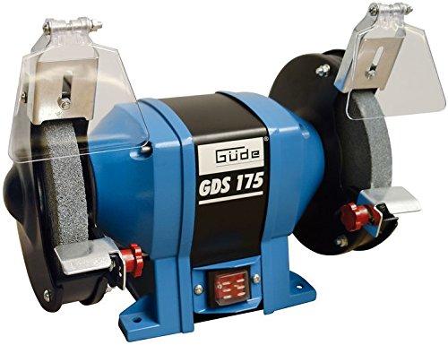 2 discos, Negro, Azul, 2950 RPM, 17,5 cm, 2,5 cm, 3,2 cm Gude GDS 175 amoladora de banco 2 discos 2950 RPM Bench grinders