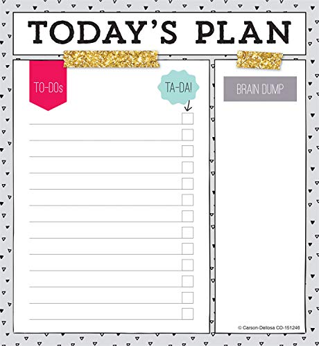 Carson Dellosa Today's Plan Notepad (151246)]()