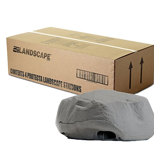 Protecta Landscape Rat Bait Station (Granite) - 1 Case/4 Stations by ProTecta