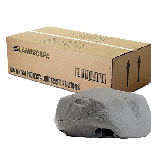 Protecta Landscape Rat Bait Station (Granite) - 1 Case/4 Stations ()