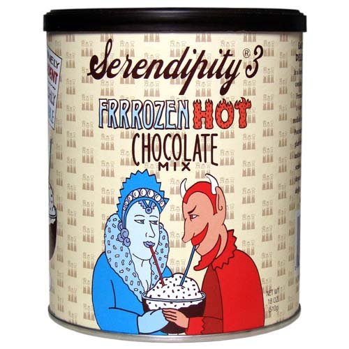 Mix Dark Chocolate - Serendipity 3 Frrrozen Hot Chocolate Mix 18oz Canister