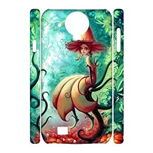 ALICASE Diy Case Fairy Cover For Samsung Galaxy S4 i9500 [Pattern-1]