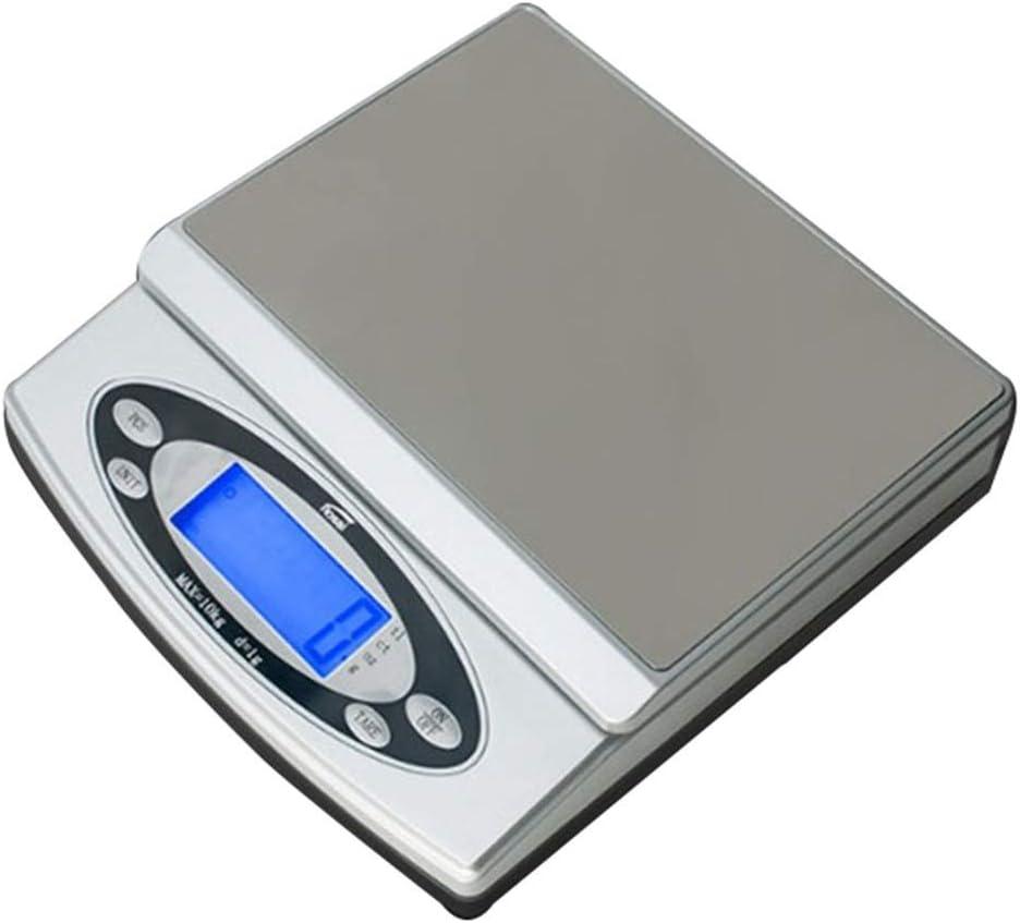 Báscula de cocina electrónica de alta precisión Báscula de mesa de peso Báscula de mesa de precisión para joyería pequeña Báscula de mesa electrónica industrial (Tamaño: 3 kg / 0,5) Básculas de cocin