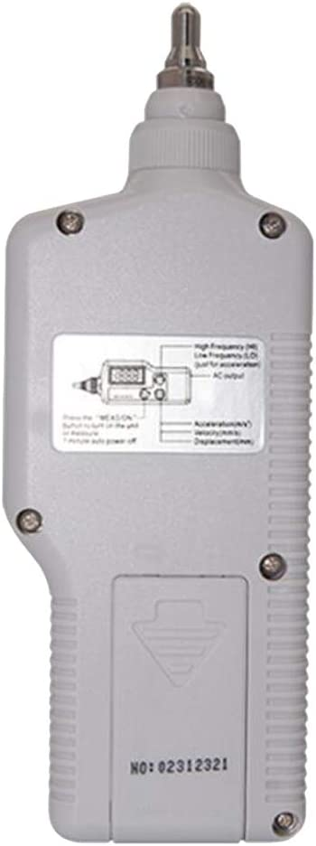 Flameer Digital Handheld Vibrometer Tester Vibration Analyzer Portable Seismometer