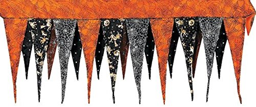 Fun Express BEWITCHING HALLOWEEN MANTEL SCARF - 82x35 for $<!--$24.93-->