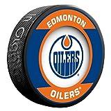 Edmonton Oilers Retro Series Team Logo Model Collectible Souvenir Puck