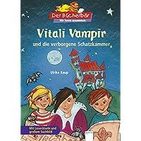 Der Bücherbär: Wir lesen zusammen: Vitali Vampir und die verborgene Schatzkammer: Mit Leserätseln und großem Suchbild.