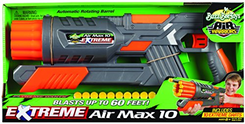 Buzz Bee Toys Air Warriors EXTREME Air Max 10 ()