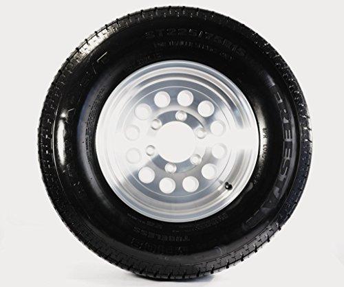 eCustomRim Trailer Tire On Rim ST225/75D15 H78-15 225/75-15 6 Lug Wheel Aluminum -