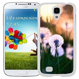 Dandelions Macro (2) Hard Plastic Samsung Galaxy S4 I9500 Protective Phone Case