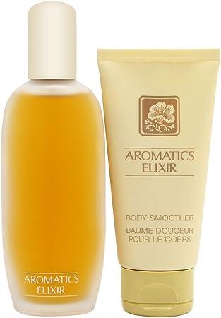 Clinique Exclusivo Aromatics Elixir – Perfume y cuerpo suave Set de regalo: Amazon.es: Belleza