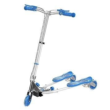 Amazon.com: Patinete para niños con tres ruedas, polea ...