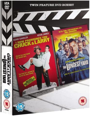 I Now Pronounce You Chuck And Larry The Longest Yard Dvd Amazon Co Uk Adam Sandler Kevin James Jessica Biel Dan Aykroyd Ving Rhames Steve Buscemi Nicholas Turturro Allen Covert Rachel Dratch Richard Chamberlain Chris