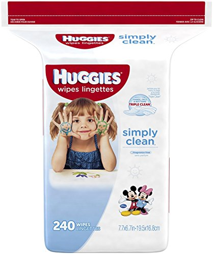 Huggies Simply Clean Baby Wipes - Unscented - 240 ct