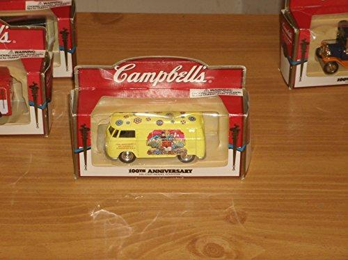 Campbell's Soup 100th Anniversary Die-Cast Car Model Souvenir - Yellow Volkswagen Van/Bus by Lledo