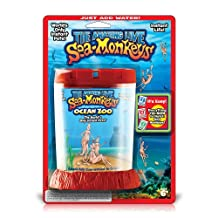 Amazing Live Sea Monkey's Ocean Zoo - (Color/Styles Vary)
