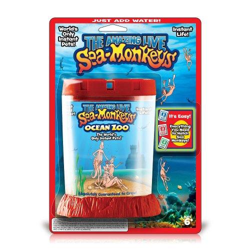 (Amazing Live Sea Monkey's Ocean Zoo - (Color/Styles Vary))