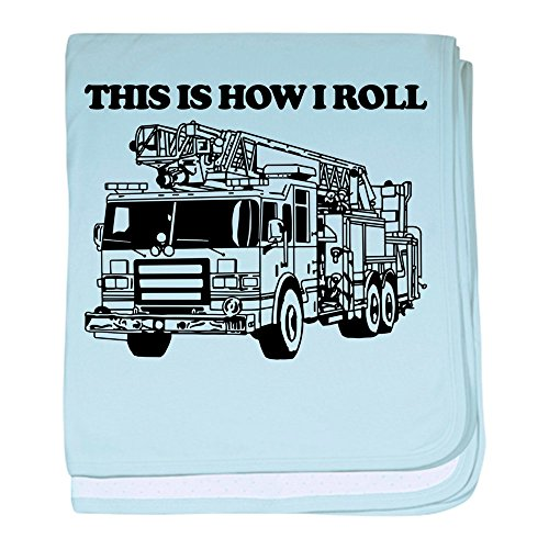 - CafePress - This is How I Roll - Baby Blanket, Super Soft Newborn Swaddle