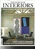 THE WORLD OF INTERIORS MAGAZINE, JUNE, 2017 LOST LOVE'S LABOURS
