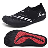 Men Barefoot Shoes Quick-Dry Water Shoes Sports Aqua Shoe For Swim, Boating, Sailing, Walking, Yoga, Lake, Beach, Driving, River Trekking white 42