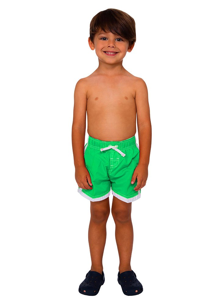 INGEAR Boys Quick Dry Swim Trunks Cargo Water Shorts With Mesh Lining (Green, 12/14) by INGEAR (Image #4)