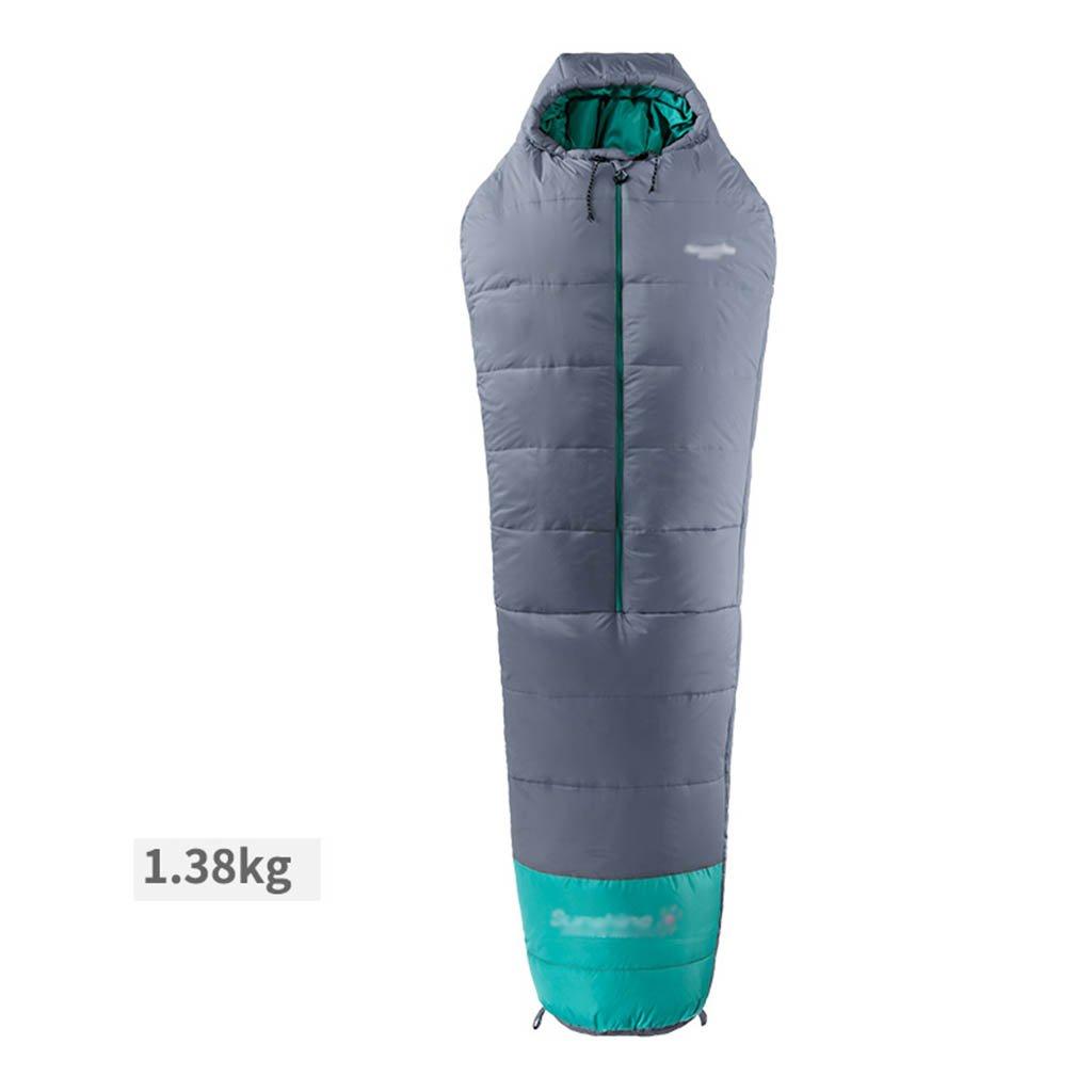 寝袋、綿の冬大人の屋外キャンプは暖かく保つ B07DCS7TXN  2