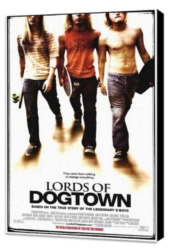 ArtFuzz Lords of Dogtown 11 x 17 Movie Poster - Style A - Museum Wrapped Canvas ()