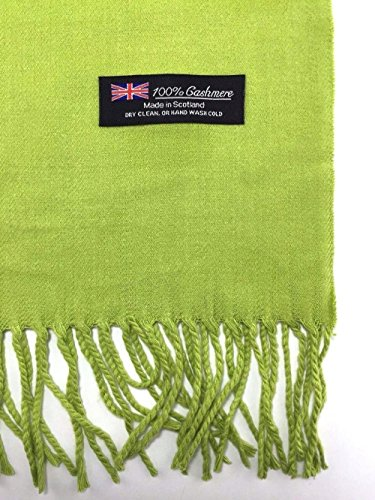 Green_Solid Scarf 72