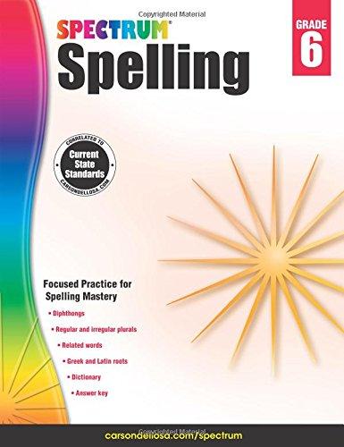 Spectrum Spelling, Grade 6 (Sixth Grade Vocabulary)