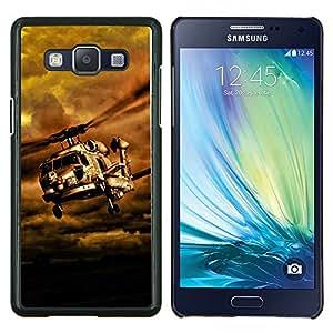 EJOOY---Cubierta de la caja de protección para la piel dura ** Samsung Galaxy A5 A5000 ** --Naturaleza Hermosa Forrest Verde 145