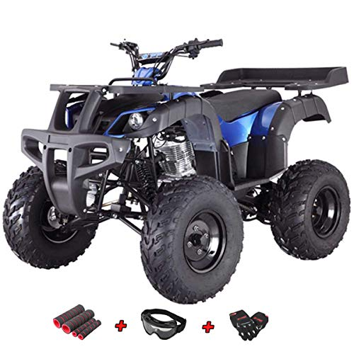 X-Pro 250cc ATV 4 Wheelers 250 Utility Full Size ATV Quad Adult ATVs Fully Assembled and Tested with Gloves, Goggle and Handgrip (Tree -