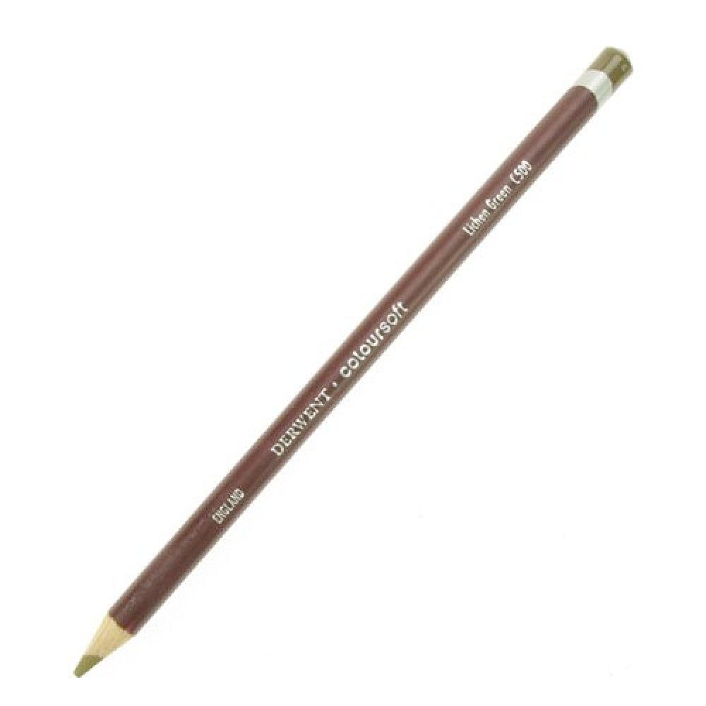 Derwent Coloursoft Pencils lichen green C500 by Derwent B000P1UH8O